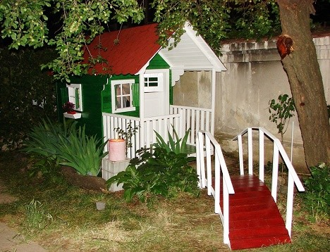 Casutele din lemn pentru copii, bucuria celor mici! - Galerie foto