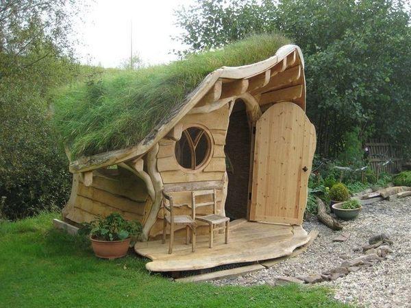 Casuta gradina lemn reciclat