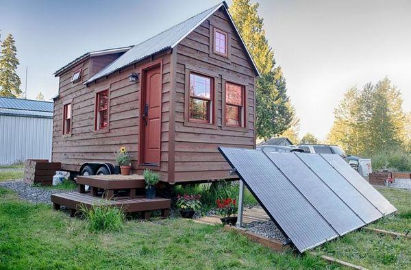 Casa pe roti, o casa pentru oameni liberi: ecologica, fara autorizatie de construire, fara impozite, fara rate la banca