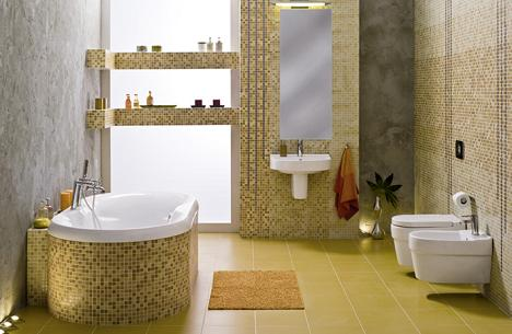 Idei de amenajare a baii seria deco de la cersanit - Deco kleine wc ...
