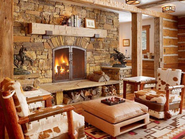 Semineuri din piatra sau placate cu piatra. 10 modele de semineuri care aduc farmecul stilului rustic in orice casa