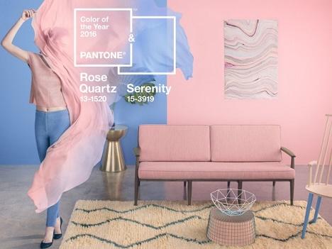 Culorile anului 2016, Rose Quartz si Serenity