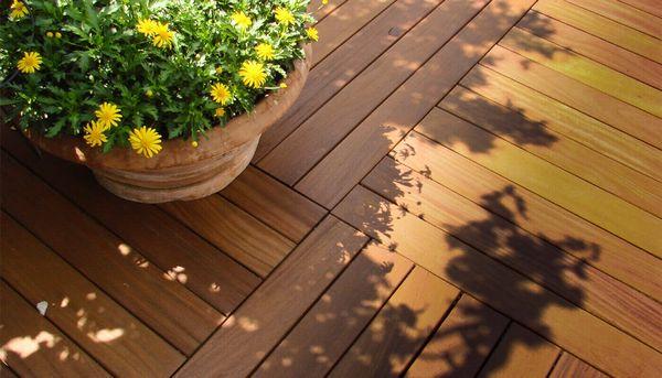 Deck pentru terasa - scurt ghid