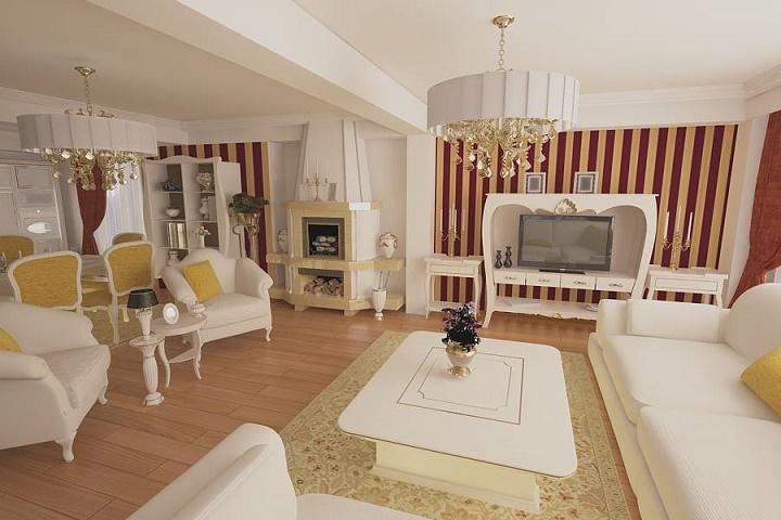6 idei pentru un design interior de lux galerie foto for Dizain case interior