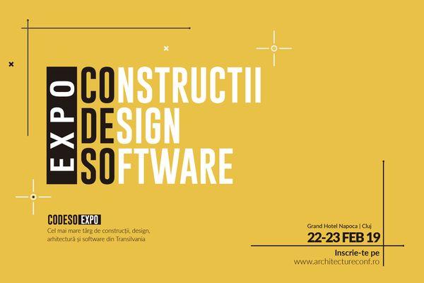 Constructii, design si software: prima editie a targului EXPO CoDeSo are loc la Cluj-Napoca