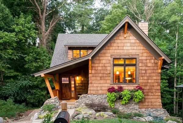 Casele mici, nu doar ieftine ci si frumoase - proiecte si imagini