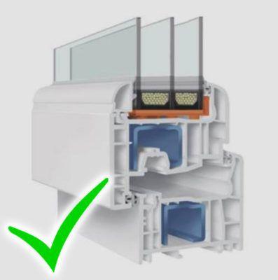Tamplarie PVC - Fereastra ADF