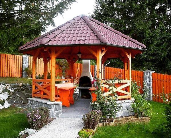 Foisoare hexagonale sau octogonale din lemn - o solutie accesibila ca pret si potrivita pentru orice curte