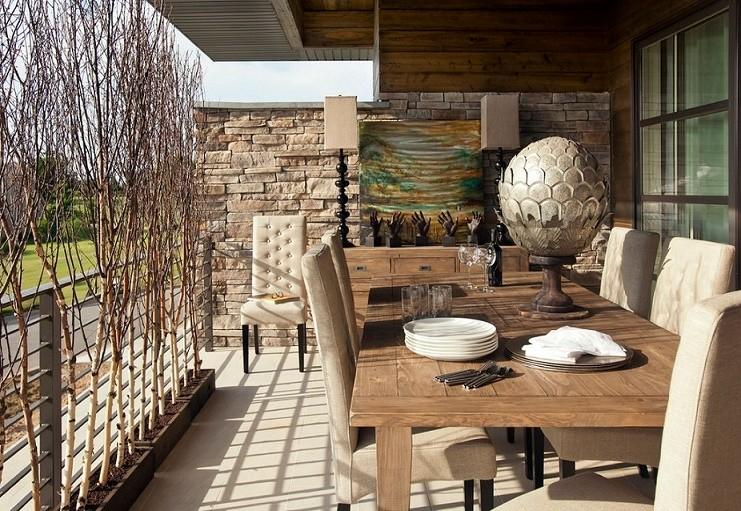 idei pentru amenajarea balconului galerie foto. Black Bedroom Furniture Sets. Home Design Ideas
