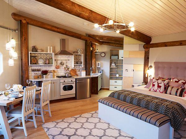 Casa ecologica mica si ieftina pentru o tanara familie - proiect si imagini