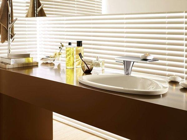 5 lavoare incastrate pentru o baie cu aspect minimalist