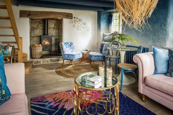 Casa de vacanta cu un design interior inspirat de oceanul din apropiere