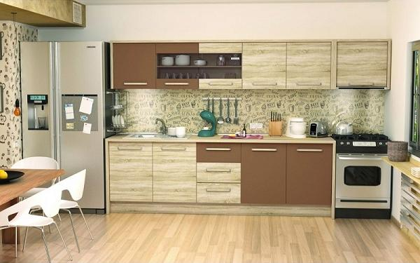 Mobila care completeaza bine seria de corpuri de mobilier prezente intr-o bucatarie moderna