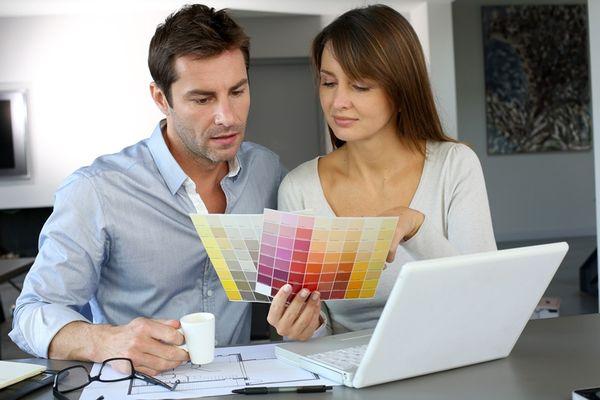 Alegerea culorilor pentru zugraveala, o joaca pentru cei creativi si curajosi