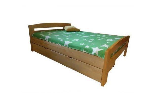 Pat dormitor Serena din lemn masiv