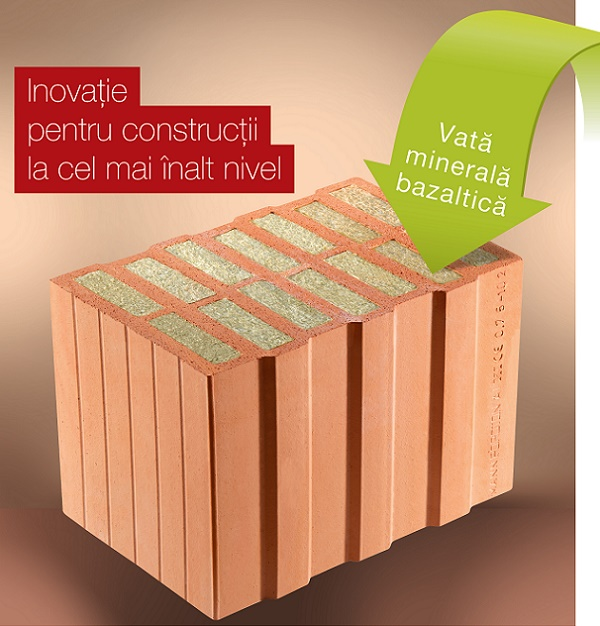 Wienerberger lanseaza Porotherm 36,5 TermoPlus, pentru zidarie fara termoizolatie suplimentara