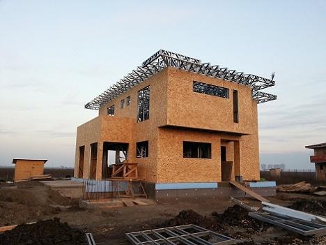 Proiecte de case pe structura metalica la cheie, constructie in doar 3 luni