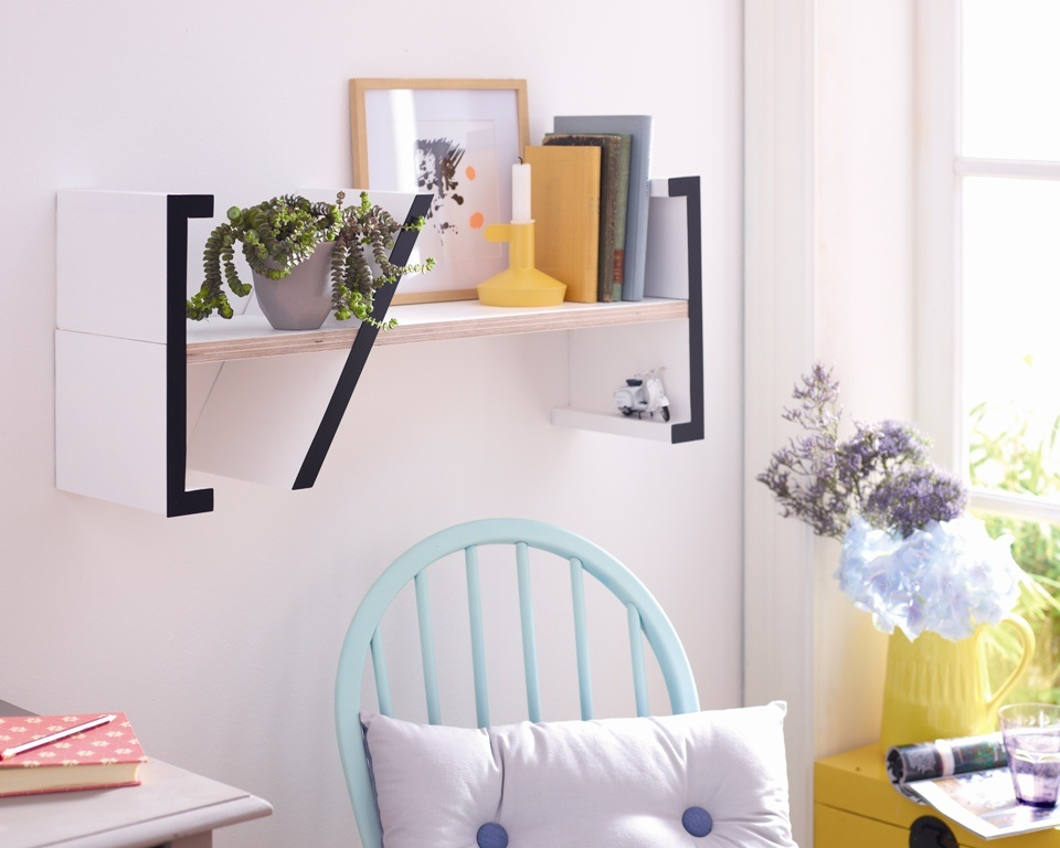 Pas cu pas: Cum sa va faceti singuri un raft elegant pentru carti - Galerie foto