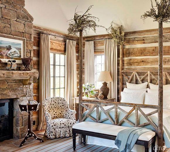 Stilul rustic, o bucata din natura in casa ta. 20 de interioare rustice incantatoare!