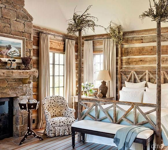 Decorul rustic - o bucata din natura in casa ta