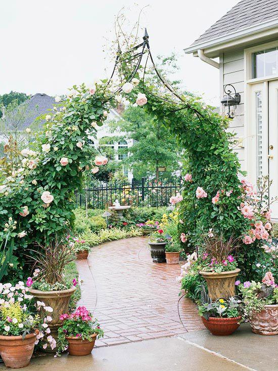 Modele arcade trandafiri