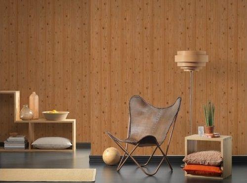 Tapet rustic, model lambriu, lavabil
