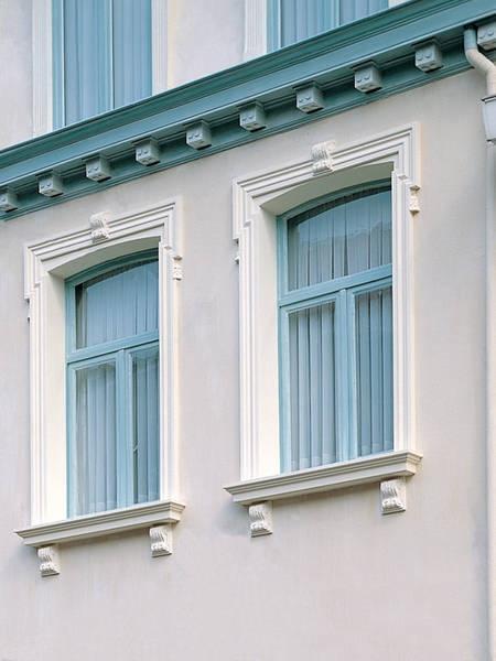 Profile decorative de exterior pentru fatade ferestre si - Molduras para ventanas exteriores casas ...