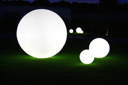 Sfera Luminoasa Gradina Corpuri Iluminat Lampi De Gradina