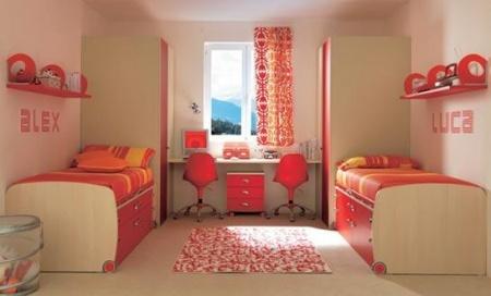 Mobilier camera tineret la comanda pro 05 copii si tineret set mobila tineret - Habitaciones para dos ninas ...