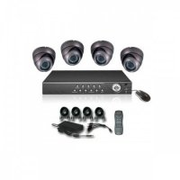KIT DVR 4 CAMERE DE INTERIOR H264 - KIT DVR 4 CAMERE DE INTERIOR H264