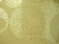 tapet lavabil vinilic auriu cu buline 25854
