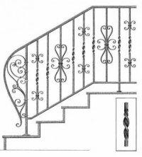 scari exterioare fier forjat 27217