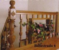 balustrade din lemn 3879