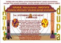 HIDROIZOLAREA, ANTIIGRASIE, MOLD REMOVAL, IGRASIE, IGRASIA, UMIDITATE, IZOLARE ULTERIOARA - HIDROIZOLAREA, ANTIIGRASIE, MOLD REMOVAL, IGRASIE, IGRASIA, UMIDITATE, IZOLARE ULTERIOARA