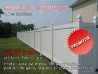 GARD DIN PVC, MODEL COLORADO PROMOTIE - GARD DIN PVC, MODEL COLORADO PROMOTIE