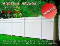 GARD DIN PVC, MODEL NEVADA, PROMOTIE - GARD DIN PVC, MODEL NEVADA, PROMOTIE