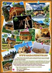 cabane din lemn 54923