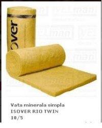 VATA MINERALA SIMPLA ISOVER RIO TWIN 10/5 - VATA MINERALA SIMPLA ISOVER RIO TWIN 10/5