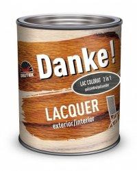 LAC DANKE LACQUER COLORAT PENTRU LEMN EXTERIOR 0.75L - LAC DANKE LACQUER COLORAT PENTRU LEMN EXTERIOR 0.75L