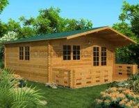 kit casa de lemn 8375