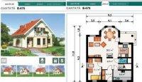proiecte case cu mansarda 2003