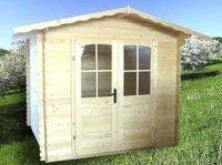 garaj din lemn 8902