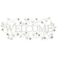 DECORATIUNE PERETE WELCOME ALBA CU TRANDAFIRI - DECORATIUNE PERETE WELCOME ALBA CU TRANDAFIRI