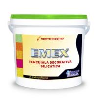 TENCUIALA DECORATIVA SILICATICA EMEX /KG - ALB - TENCUIALA DECORATIVA SILICATICA EMEX /KG - ALB