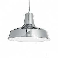 LAMPA SUSPENDATA IDEAL LUX - MOBY SP1 CROM - LAMPA SUSPENDATA IDEAL LUX - MOBY SP1 CROM