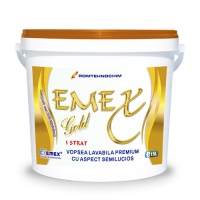 VOPSEA LAVABILA PREMIUM  EMEX GOLD / BIDON 15 L - VOPSEA LAVABILA PREMIUM  EMEX GOLD / BIDON 15 L