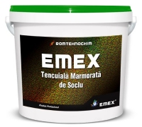 TENCUIALA DE SOCLU DECORATIVA MARMORATA EMEX - TENCUIALA DE SOCLU DECORATIVA MARMORATA EMEX