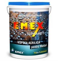 VOPSEA ACRILICA PENTRU METAL EMEX SUPRAMET - VOPSEA ACRILICA PENTRU METAL EMEX SUPRAMET