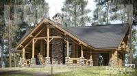 cabane din lemn 87246