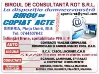 AGENTIA ROT SERVICII CONSULTANTA ASIGURARI ACTE AUTO 65127